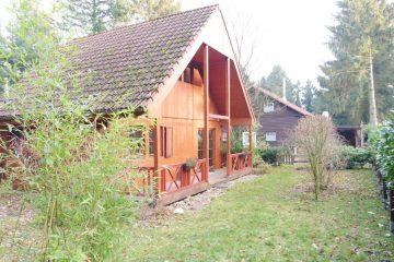 Viel Grün, viel frische Luft und viel Ruhe! Idyllisch gelegenes Holzhaus am Otterstedter See! 28870 Otterstedt / Ottersberg, Einfamilienhaus