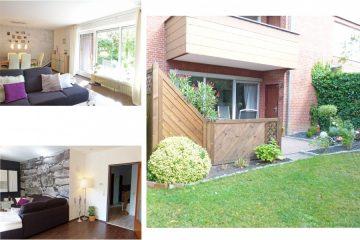 charmante Erdgeschosswohnung mit Terrasse und  Blick ins Grüne 27383 Scheeßel, Erdgeschosswohnung