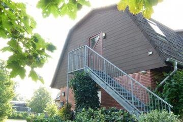 teilmöbelierte helle 2-Zimmer Wohnung mit eigenem Eingang 27383 Scheeßel / Hetzwege, Dachgeschosswohnung