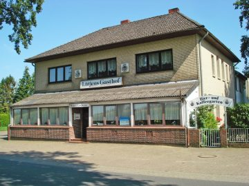 Landgasthof mit Saalbetrieb, Fremdenzimmern, Biergarten und Betriebswohnung, 27383 Scheeßel, Gastronomie