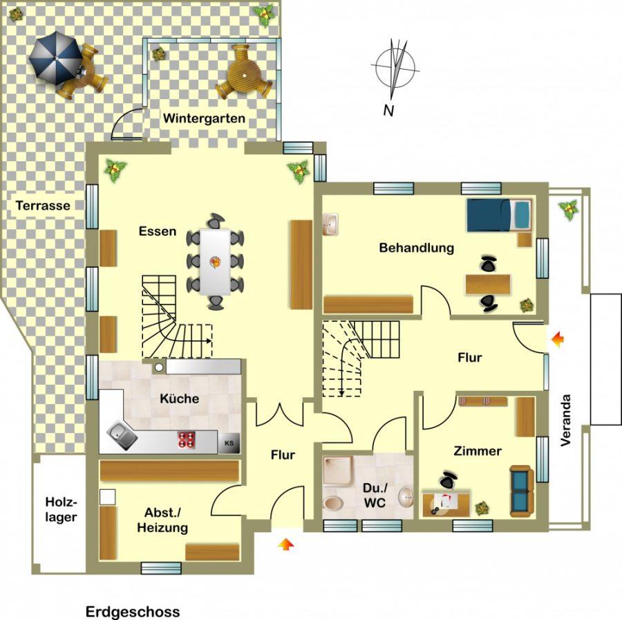 wohnen und arbeiten unter einem dach immobilienkontor. Black Bedroom Furniture Sets. Home Design Ideas