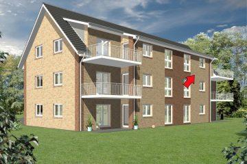 Bereits 50% verkauft! Anspruchsvolles Wohnen in ruhiger Lage!, 27356 Rotenburg (Wümme), Dachgeschosswohnung