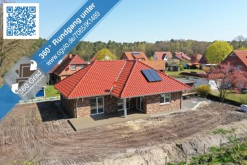Provisionsfrei für den Käufer! Bungalow mit 128 m² Wohnfläche und Ausbaureserve von 42 m², 27386 Brockel, Bungalow