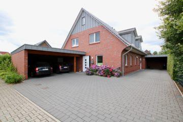 Scheeßel: Neuwertige Doppelhaushälfte mit Doppelcarport, 27383 Scheeßel, Doppelhaushälfte