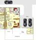Scheeßel: Neuwertige Doppelhaushälfte mit Doppelcarport - Grundriss Erdgeschoss