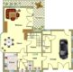 Hier lässt sich´s gut leben - Fachwerkhaus mit 177 m² Wohnfläche - Erdgeschossgrundriss