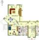 Sittensen: Komplett renovierte 2-Zimmer-Wohnung im Erdgeschoss mit Terrasse - Grundriss Whg. EG links